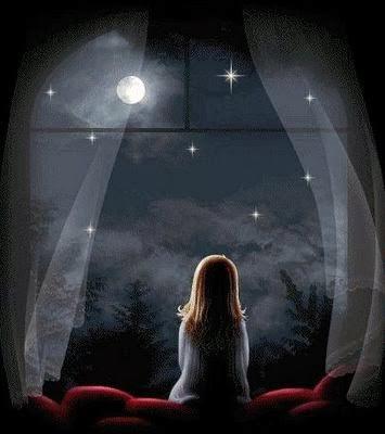 Mirar estrellas para buscar a nuestros seres queridos.