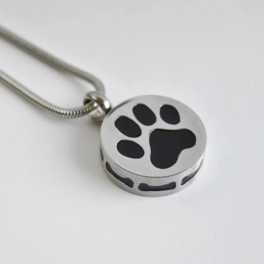 joyas para cenizas de mascota con cadena
