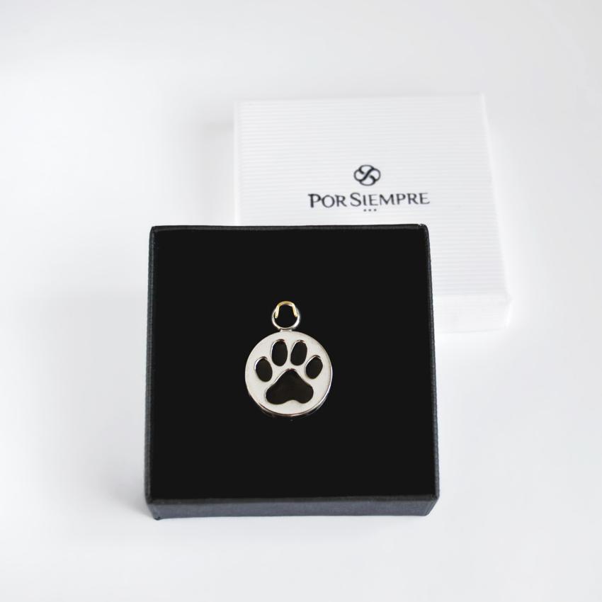 joyas para cenizas de mascota con caja