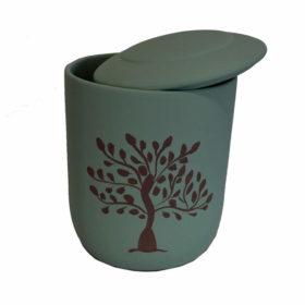 urna biodegradable arbol de vida verde