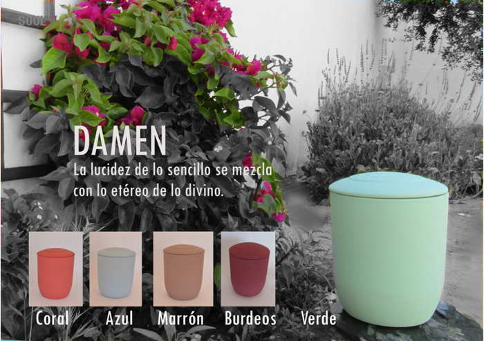 Urna biodegradable Damen
