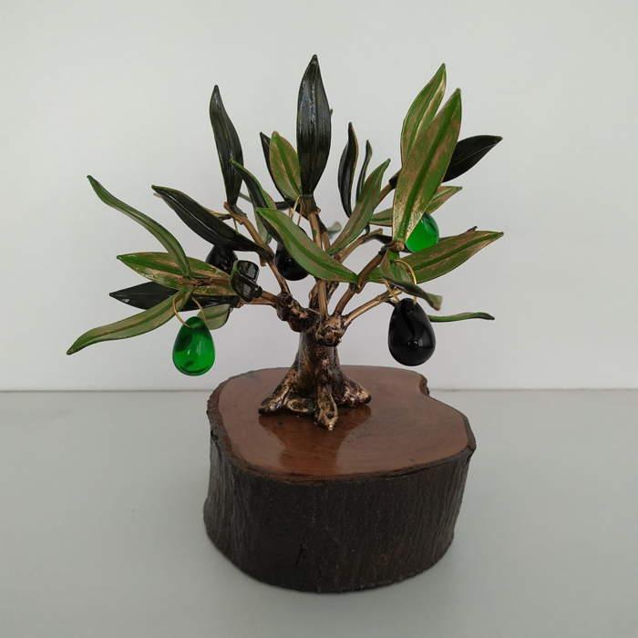 urna funeraria arbol olivo