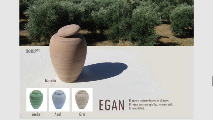Urna funeraria Bio Egan